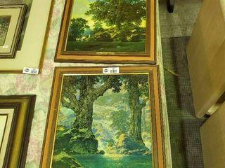 2  Maxfield Parrish Prints