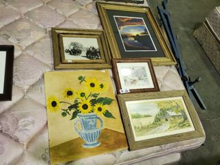 4  Rustic Prints  Including  Metivier Inn  By Carolyn Scott Risk