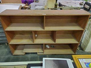 Wooden Shelfs Book Shelfs  H  47  l  6  W  15