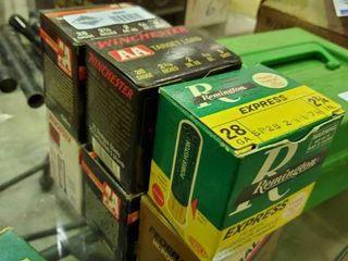 6 Boxes of 28 Gauge Shotgun Shells