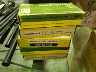 5 Boxes of 25 30 Winchester Ammunition   3 Full Boxes and 2 Partial