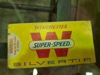1 Box of Winchester Silver Tip  30 Remington Ammunition