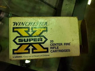 5 Rounds of Winchester Super X 303 British Ammunition