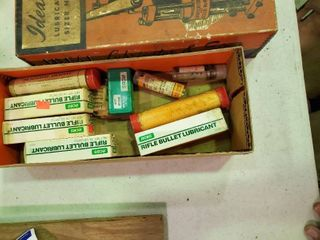 lot of Refill Bullet lubrication and Misc  Reloading Items