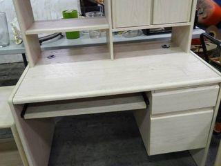 Computer Desk With Small Hutch