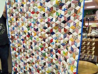 large Handmade Quilt