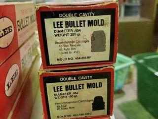 3  lee Bullet Moulds
