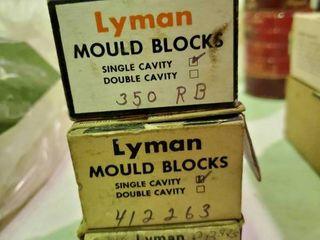 3  Bullet Moulds  Blocks ONlY