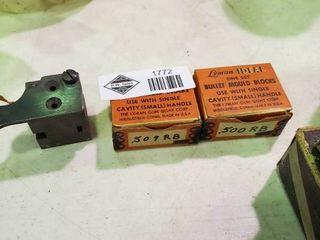 3  lyman Bullet Mould Blocks