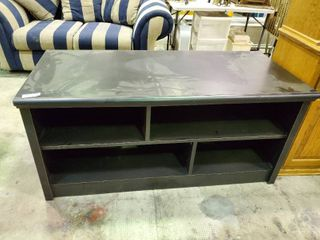 Black Tv Stand   Console Table  H  24  l  52  W  24