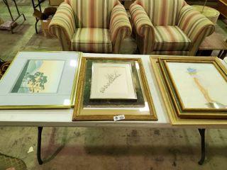 lot of Various Artwork
