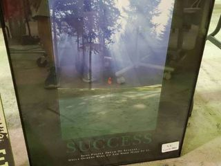 Framed  Success  Poster