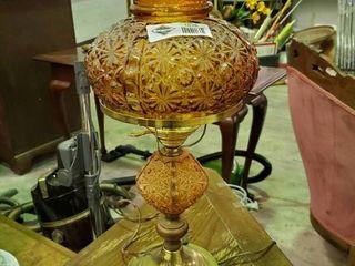 Vintage Oil lamp looking Electric lamp