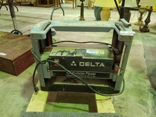 Delta 12  Portable Planer
