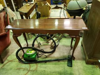 Wooden Entry Table  H  30  l  52  W  16