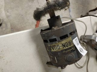 Electric Motor w  Wire Brush