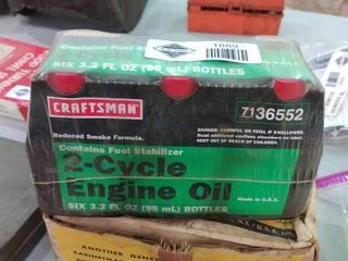 6  2 Cycle Engine Oil