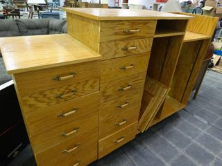 Chest of Drawers Shelf Combo
