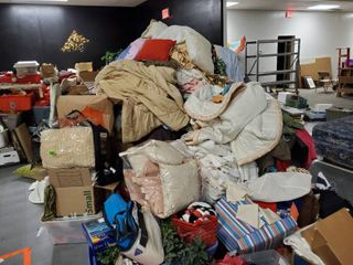 Massive lot of Blankets   linens   Pillows and more