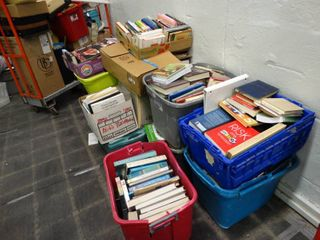 large lot of Assorted Books   BRING OWN BOXES TOTES NOT INClUDED