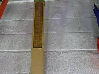 Bamboo Flat Fold Roman Shades in Box