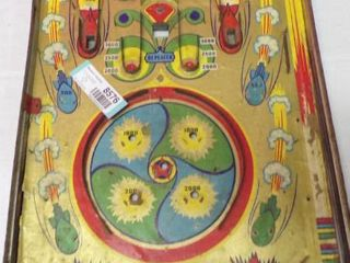 TABlE TOP MARBlE GAME   MISSING PlASTIC COVER