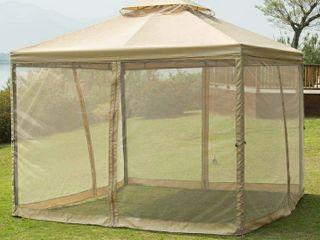 Sunnyglade 10  x10  Gazebo Canopy Soft Top Outdoor Patio Gazebo Tent Garden Canopy for Your Yard  Patio  Garden  Outdoor or Party