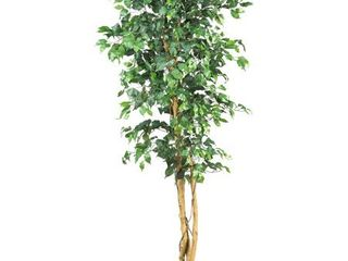 Nearly Natural 6ft  Ficus Artificial Trees  72in  Green leaves And Branches Fallen Off