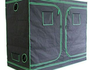 Green Hut 96 X48 X78  600D Mylar Hydroponic Indoor Grow Tent