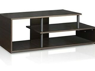 Furinno Econ low Rise TV Stand  Espresso Black
