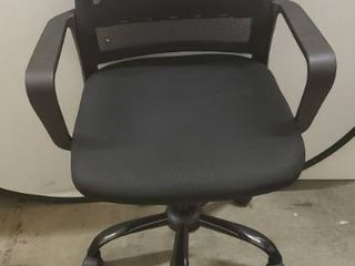 Black Office Chair With Adjustable Height