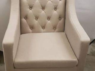Baxton Studio Brittany Club Chair  Beige
