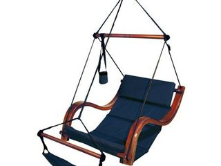 Hammaka Nami Deluxe Hanging Hammock lounger Chair In Blue
