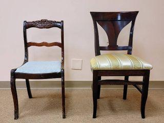 2 Nice Quality Solid Wood Chairs