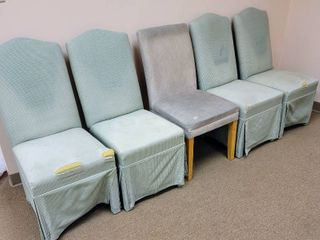 5 Matching Parsons Chairs