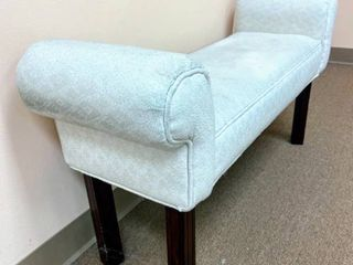Upholstered Bench 42  Wide x 22  Tall x 13  Deep