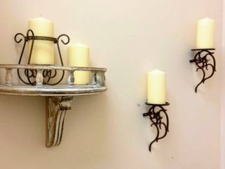 Candle Wall Decor lot
