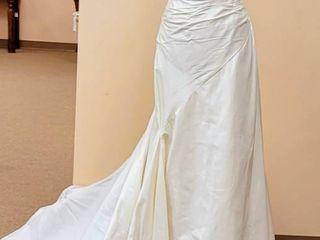 St  Patrick Dupioni Silk Wedding Dress Gown Size 10
