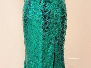 Designer Tony B Emerald Special Occasion Dress SZ 8