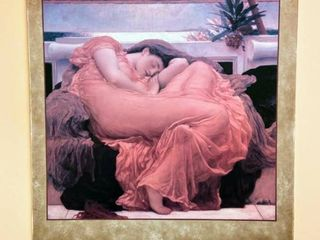 Print on Canvas  Flaming June By Fredric lord leighton