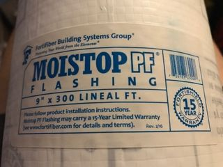 Roll oh 9 x 300 Moistop PF Flashing
