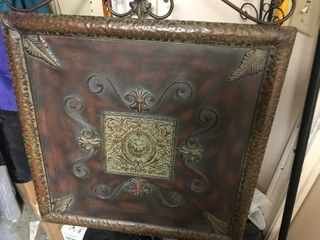 large metal Decore wall hanging