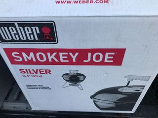 New weber smoky Joe inbox