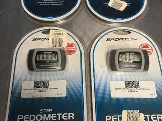 Set of 4 new pedometers