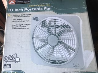Inbox portable fan