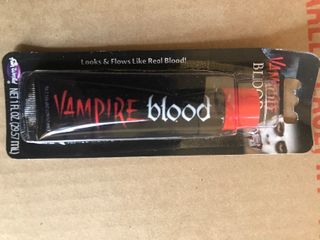 Get ready for Halloween 10 tubes of vampire blood