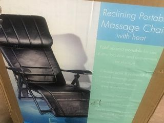 portable massage chair as pictured
