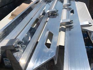 New aluminum rolloff tow truck rails