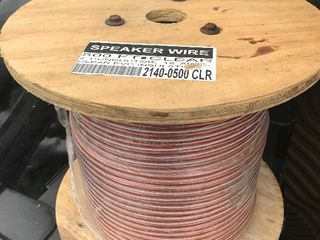 New 500 foot roll of speaker wire as pictured