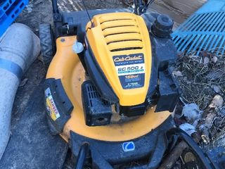Cobb cadet push mower came from local estate